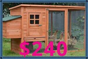 Giant Chicken Coop with nest box flat pack collect today! Osborne Port Adelaide Area Preview