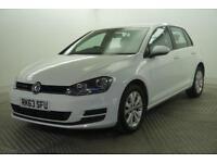 2013 Volkswagen Golf SE TDI BLUEMOTION TECHNOLOGY Diesel white Manual