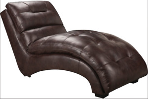 Brown Chaise in Perfect Condition