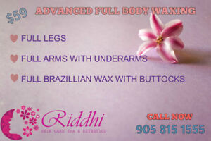 Full Legs+Arms+Brazilian wax 59$,Body Bleach 69$,Massage 49/Hr O