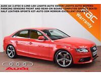 2008 Audi A4 2.0TDI (143PS)S Line-PARKING SENSORS-LED LIGHTS-XENONS-SPORTS SEATS