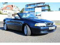 2003 VOLVO C70 2.0 T 160 BHP CONVERTIBLE MANUAL £1995