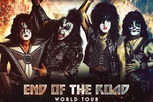 KISS: End Of the Road World Tour Tickets ~ Vancouver BC