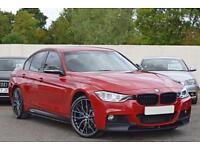 BMW 335d M SPORT PLUS 3.0 DIESEL X-DRIVE [M-PERFORMANCE] 5DR 2015 [65] RED