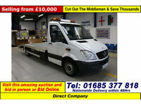 2010 MERCEDES SPRINTER 310 2.2CDI BEAVERTAIL RECOVERY C/W WINCH (GUIDE PRICE)
