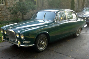 Will trade a 1967 jaguar 420 for a motorhome