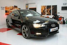 Audi A5 Coupe 2.0 TDI 2012 62 In Black 1 Owner FASH