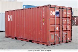 NS 20' Used Shipping Container Lease to Own