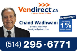 Real estate agent in ontreal