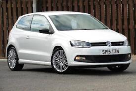 2015 VOLKSWAGEN POLO 1.4 TSI ACT BLUEGT BLUEMOTION 3DR HATCHBACK PETROL