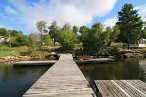 Cabins and lots for sale at Longbow Lake,Ont.,close to Kenora