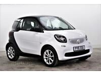 2015 smart fortwo coupe PASSION Petrol white Manual
