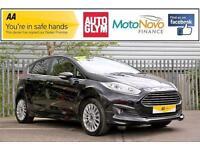 2014 Ford Fiesta 1.0 EcoBoost Titanium Hatchback 5dr (start/stop) Petrol black M