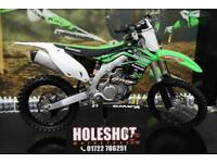 2015 KAWASAKI KXF 450 MOTOCROSS BIKE RENTHAL BARS, NEW REAR TYRE