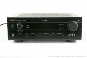 Yamaha 6.1 Ch 90 W/Ch Surround Sound Receiver, With Remote.
