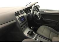 2014 Volkswagen Golf SE 1.6 TDI 105 PS 5-speed Manual 5 Door Diesel silver Manua