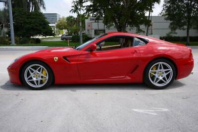 2009 Ferrari 599 Base 2dr Coupe 2009 Ferrari 599 GTB Fiorano Power Sport Daytona Seats Full Carbon Fiber Package