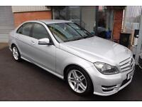Mercedes C220 CDI BLUEEFFICIENCY AMG SPORT-BLUETOOTH-CRUISE CONTROL