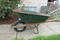 Large Wheel Barrow - Located in West Coquitlam