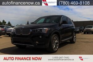 2016 BMW X3 Xdrive28i OWN ME FOR ONLY $258.90 BIWEEKLY!