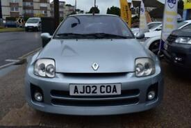 2002 02 RENAULT CLIO 3.0 V6 RENAULT SPORT RARE MID ENGINE SPORTS CAR