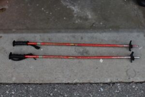 Various kids ski poles 90 & 100 cm (Lot #1)