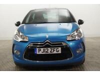 2012 Citroen DS3 DSTYLE PLUS Petrol blue Manual
