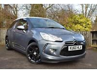 Citroen DS3 1.6HDi 110 DSport Grey, Navigation, Full Leather, 6 Sp, 35k miles