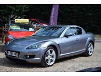 MAZDA RX-8 1.3 231BHP, ELC SUNROOF, TWO TONE LEATHER, 64000 MILES ONLY