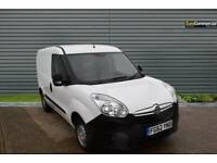 2012 Vauxhall Combo 1.3 CDTi 16v 2000 L1H1 Panel Van 3dr Diesel white Manual