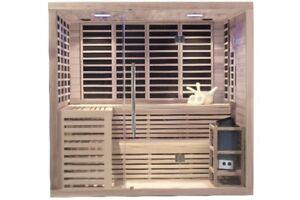 Oakville 6-Person Dual FIR and Steam Sauna