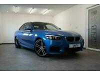 2018 BMW 218I M SPORT AUTO COUPE ONE OWNER JUST 14000 MILES BLACK LEATHER NAVIGA