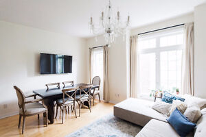 2-Bedroom Downtown Toronto Townhouse for Rent/Lease