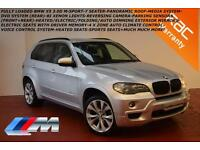 BMW X5 3.0d auto 2007 M Sport-£10K OF EXTRAS-FULLY LOADED-DVD SYSTEM-MEDIA PACK-