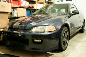 95 Honda Civic Hatchback