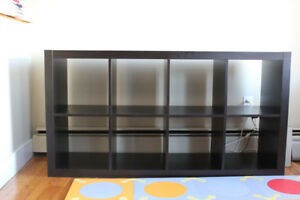 Ikea black EXPEDIT bookcase for sale, good condition!