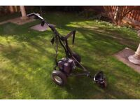 Electric Golf Trolley. Powerhouse Freedom Terrain with battery and charger.