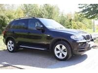 BMW X5 3.0d auto 2007 SE BLACK IMMACULATE FSH HPI CLEAR LOW MILEAGE