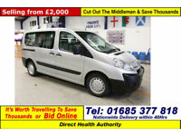 2010 - 10 - CITROEN DISPATCH 1.6HDI 90PS 5 SEAT DISABLED ACCESS MINIBUS
