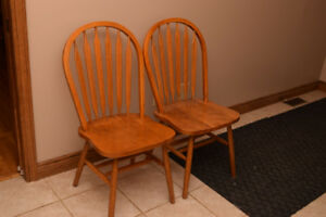 2 Kitchen Chairs