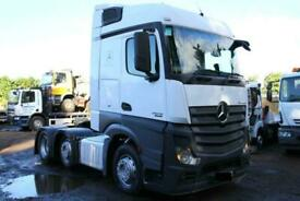 2012 MERCEDES ACTROS 2545 6X2 TRACTOR UNIT ARTICULATED LORRY MAN DAF TIPPER