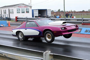 1984 Camaro Drag car