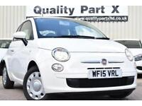 2015 Fiat 500 1.2 Pop Dualogic 3dr (start/stop)