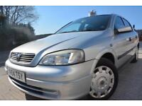 VAUXHALL ASTRA CLUB 1.6 5 DOOR*LOW MILEAGE*FULL MOT*ONE LADY OWNER*HISTORY*