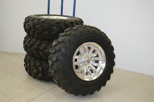 ATV TIRES 26 X 10-12 MAXXI TIRES AND RIMS