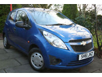 Chevrolet **SPARK + 1.0** 5 door 2011 61 **£30 a year RFL**