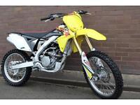 Suzuki RM-Z250 249cc Moto Cross 2014MY 4 Stroke ( Not Ktm Crf Wr Enduro ) £3895