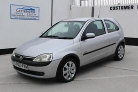 Vauxhall/Opel Corsa 1.2i 16v 2003 SXi