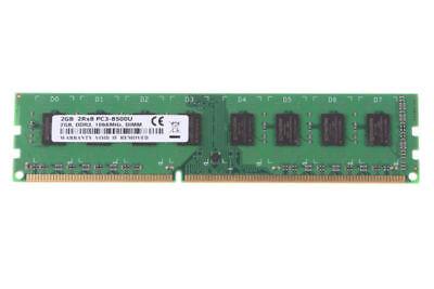 - 2GB CPU PC3-8500 2Rx8 DDR3 1066Mhz 240PIN CL8 1.5V Desktop Memory DIMM RAM $55