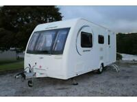 Lunar Quasar 524 4 Berth End Washroom Lightweight Caravan 2014 Model